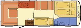 Wohnwagen Dethleffs Camper 730 FKR - viel Sonderausstattung - ID: HC1929924 #Dethleffs #Camper #730 FKR #Wohnwagen - Caravans - Wohnwagen & Reisemobile