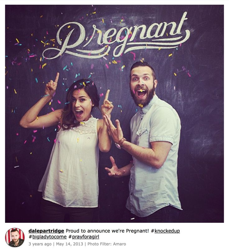 Creative Social Media Pregnancy Announcements