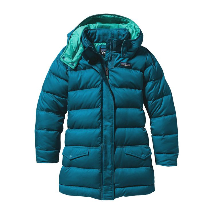Girls Down Parka Patagonia Down Winter Jackets Water