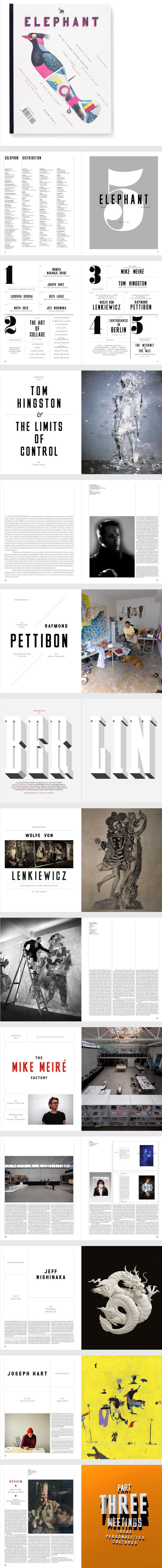 Elephant Magazine, Issue 5 by Matt Willey