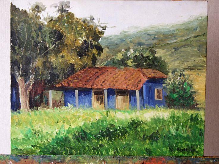 casa de campo de mi infancia