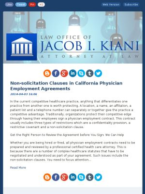 Employment Agreements Restrictive Covenants For Employment - physician employment agreement
