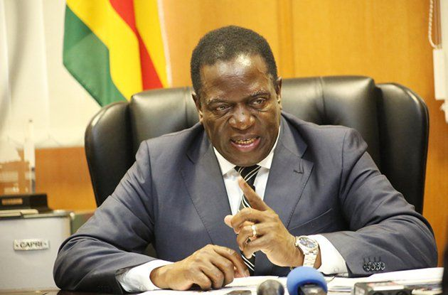Emmerson Mnangagwa Inaugurated as Zimbabwe's President