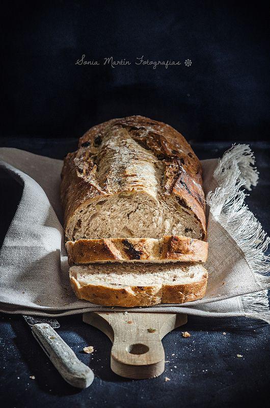 Walnuts Bread by Sonia Martín//  Pan de nueces