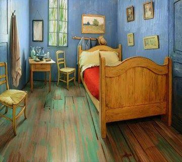 Overnachten in een schilderij van Vincent van Gogh