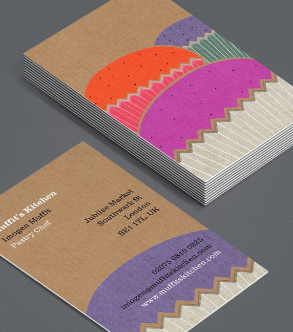 370 best business cards images on pinterest business card design bakery owners bespoke cake makers local bakeries online cupcake makers and anyone who bakes for fun will love these cupcake business cards reheart Image collections