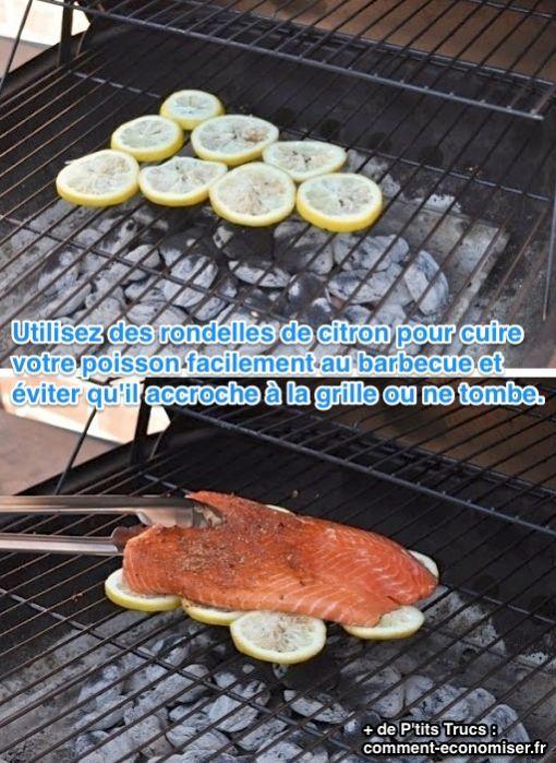 Não asse o salmão direto na grelha: coloque-o sobre fatias de limão e surpreenda. ;) #dica #churrasco