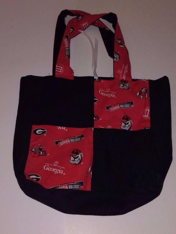 Women's University of Georgia Tote Bag UGA Bulldogs  #Unbranded #Clutch