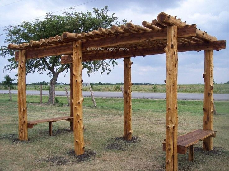 8 best building with cedar logs images on pinterest for Rustic gazebo kits