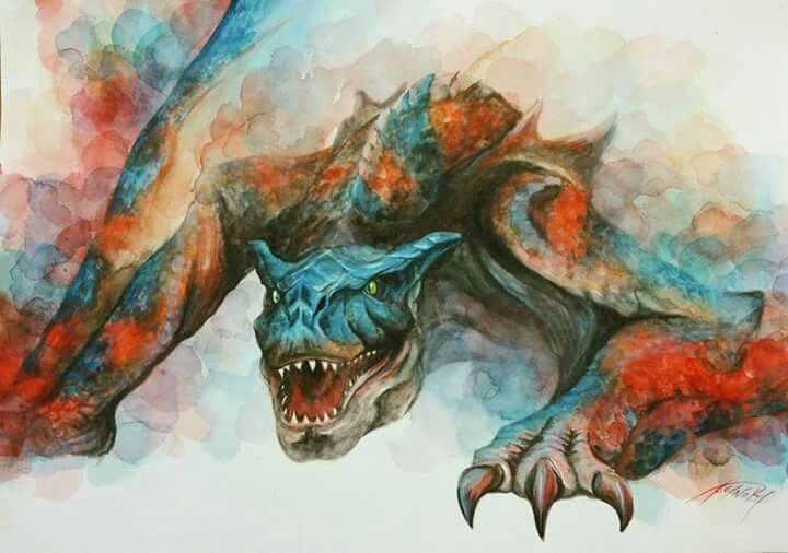 Tigrex Watercolor MH3U