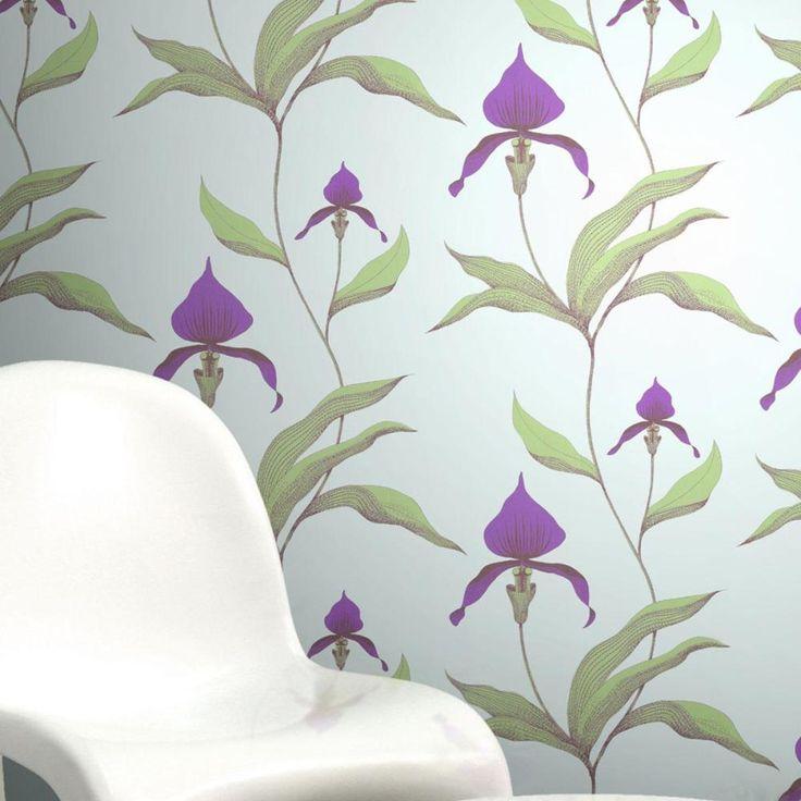Design tapéták   Cole and Son New Contemporary kollekció   Orchid tapéta