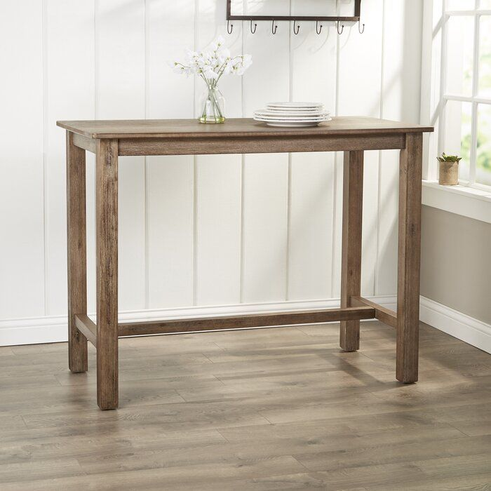 Birch Lane Heritage Allister Solid Wood Dining Table Reviews Wayfair Pub Table Wood Dining Table Solid Wood Dining Table