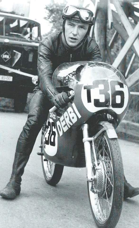 Angel Nieto Derbi 50 cc.