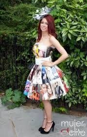 Resultado de imagen para vestido reciclado