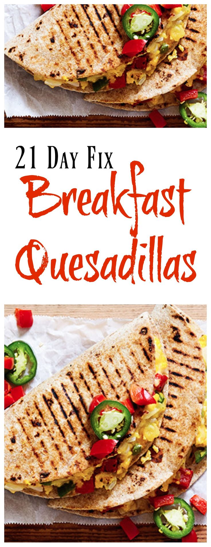 21 Day Fix Breakfast Quesadillas #21dayfixrecipes #21dayfixbreakfast #21dayfix…