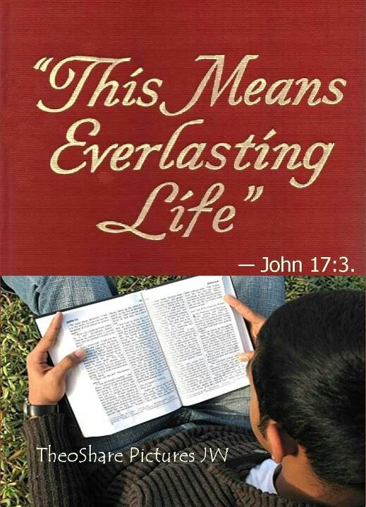 Take in knowledge of Jehovah (Almighty God) AND Jesus; It means your everlasting life. (Jesus' words, not mine)