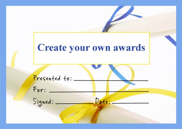 design your own award  17 best Personalised Certificates from SuperStickers images on ...