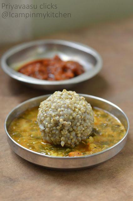 Kambhu Choru/Kambu Saadam/Bajra Rice/Pearl Millet Rice