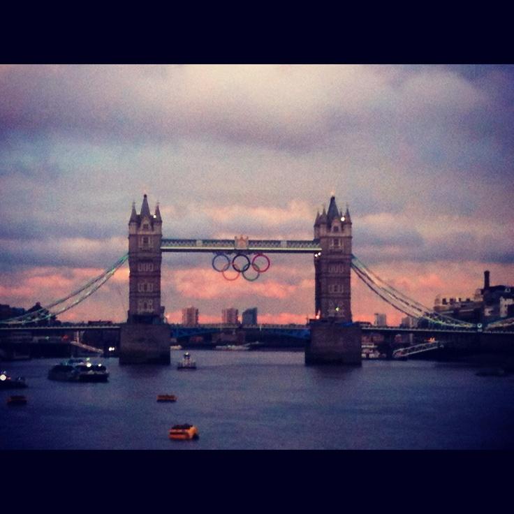 London bridge, Olympics 2012