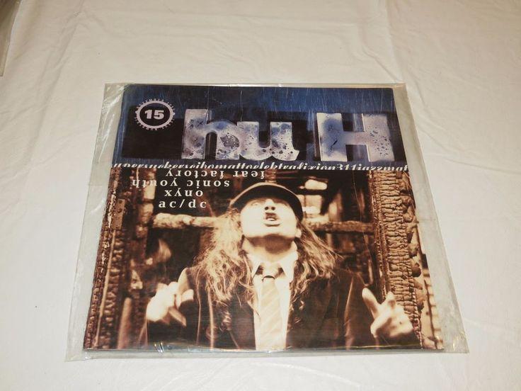 HuH AC/DC Sonic Youth 15 Fear Factory Nov 1995 Onyx 311 music Hu H magazine