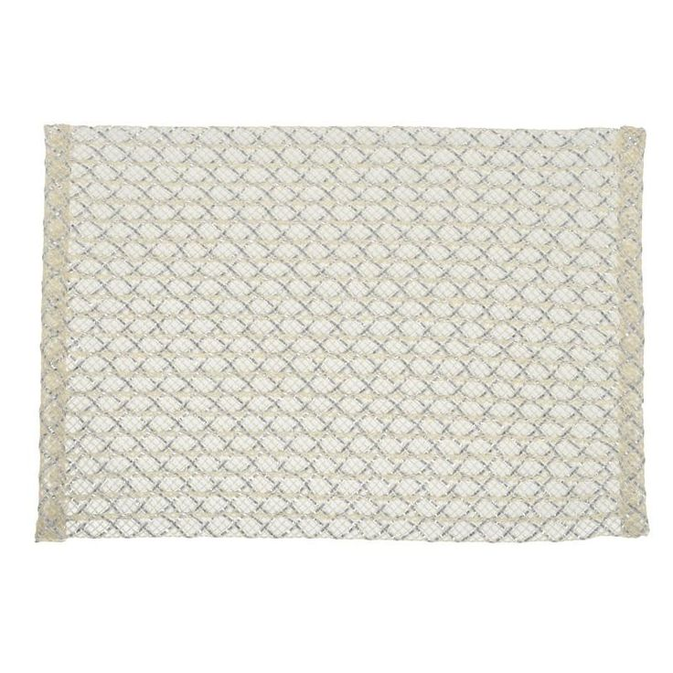 S/6 POLYESTER PLACEMAT IN BEIGE COLOR 48X33 - inart