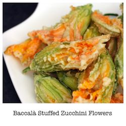 Baccalá Stuffed Zucchini Flowers | Feed Me More | Pinterest