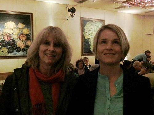 Elisabeth Fuchsenberger und Verena Bentele