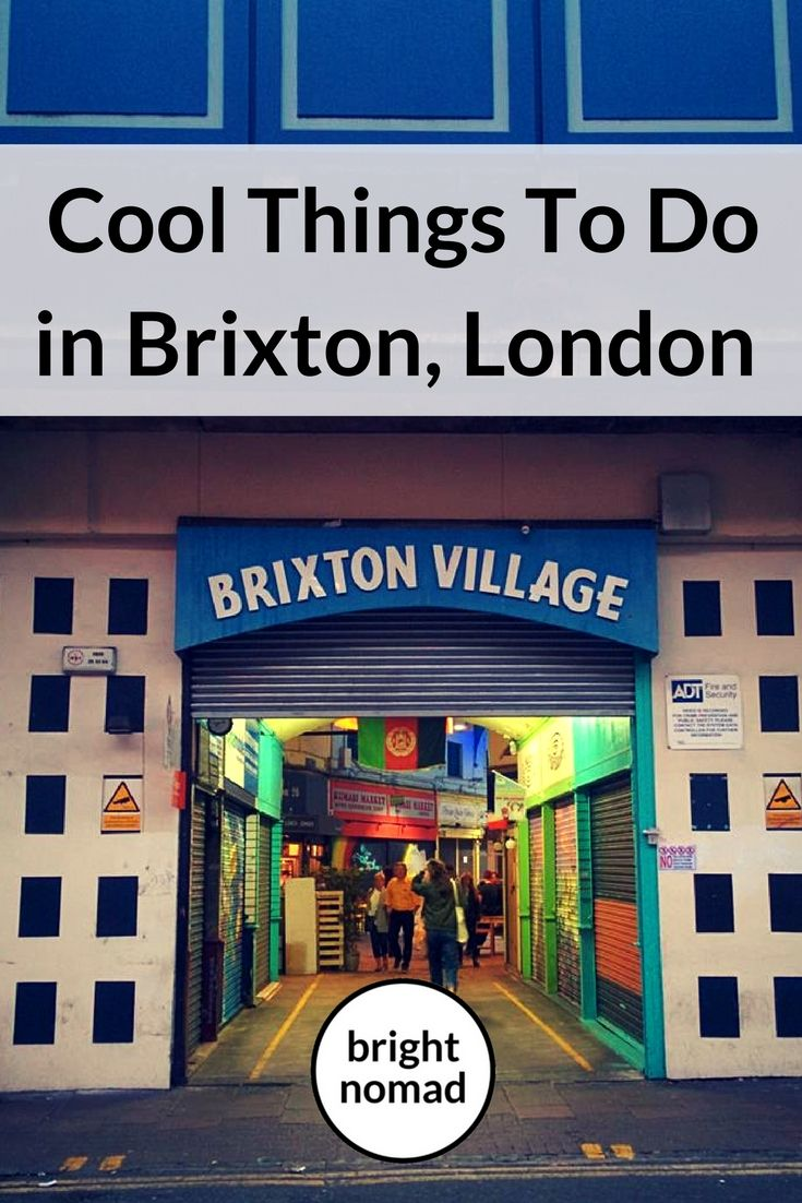 Cool things to do in Brixton London  - Brixton is one of London's coolest areas that is always vibrant, lively and so, so busy!