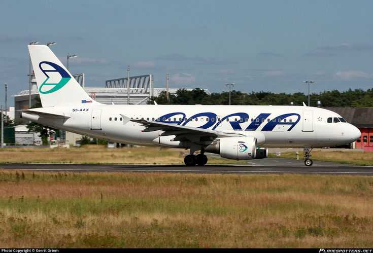 S5-AAX Adria Airways Airbus A319-111 photographed at Frankfurt Rhein-Main International (FRA / EDDF) by Gerrit Griem