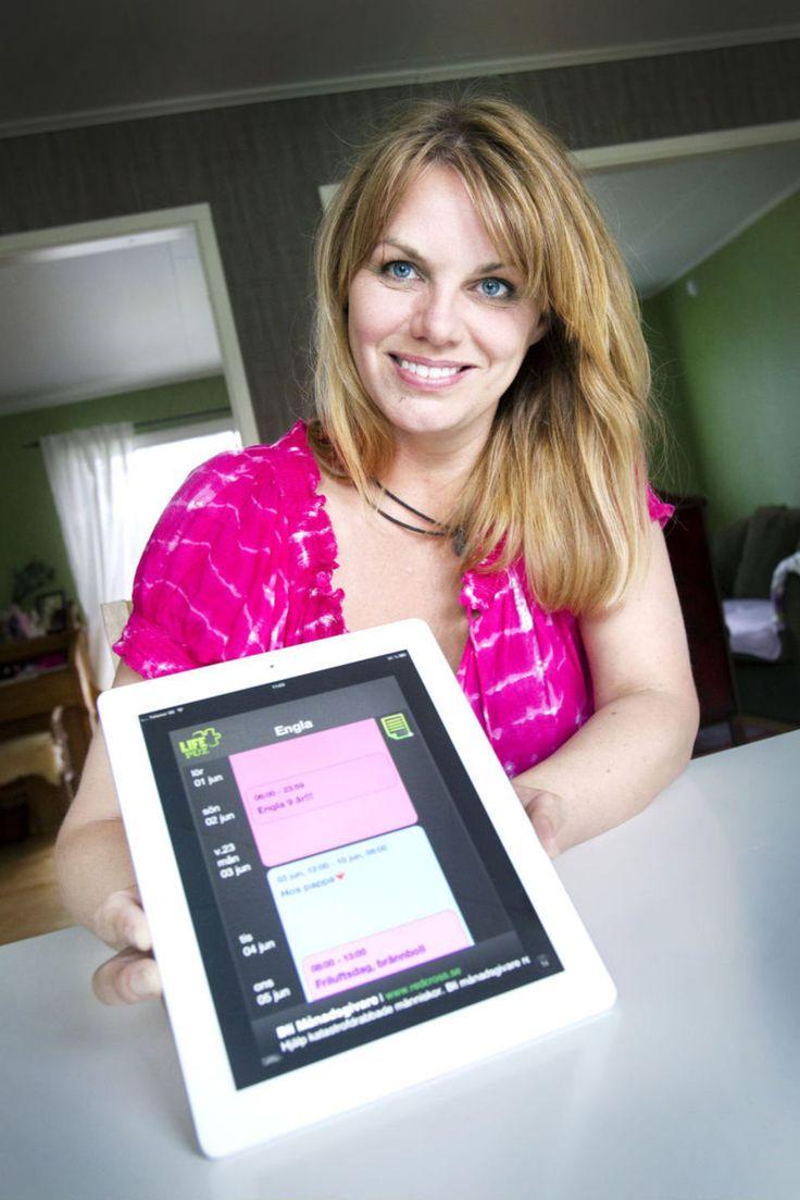 Hon skapade app för separerade föräldrar - gd.se