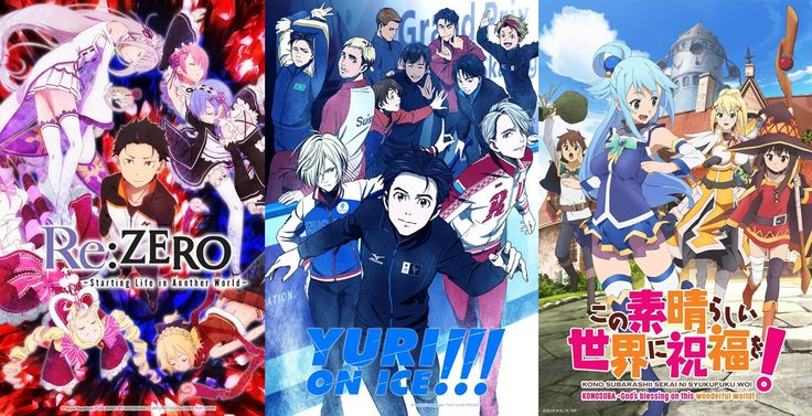 Re:Zero and KonoSuba not 1st?! Official NicoNico best anime of 2016 poll results revealed - http://sgcafe.com/2016/12/rezero-konosuba-not-1st-official-niconico-best-anime-2016-poll-results-revealed/