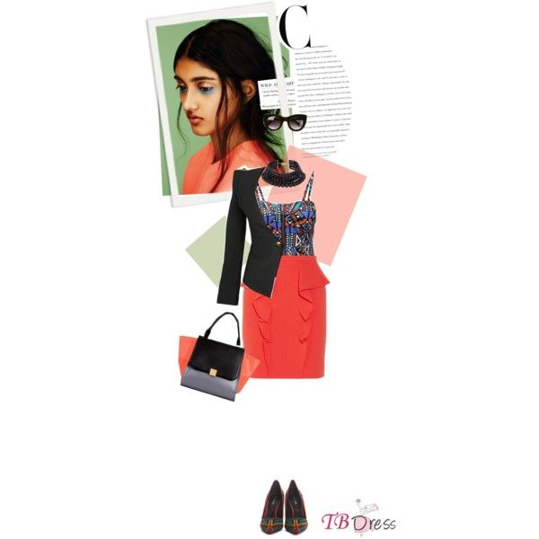 """They Just Hate You 'Cause You Look Good - TB Dress #4"" by thisislettie on Polyvore"