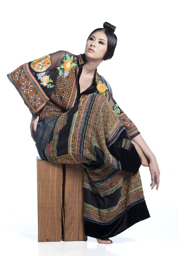 Minh Hanh. Vietnamese Fashion Designer. The Angels of Italy collection. Photo: Hai Dong. Model: Ngoc Han