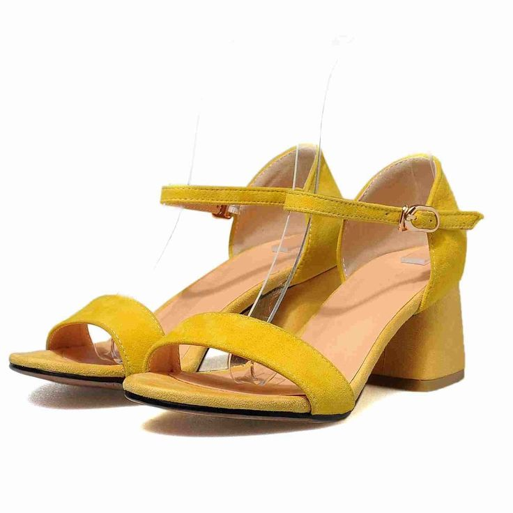 46.41$  Watch now - http://aligez.shopchina.info/1/go.php?t=32808412783 - Krazing Pot peep toe genuine leather European designer thick high heels sandals women handmade office lady ankle straps shoes 27 46.41$ #buyininternet