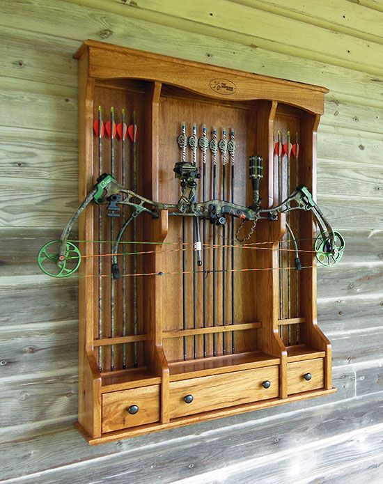 Bow Cabinet or Archery Cabinet