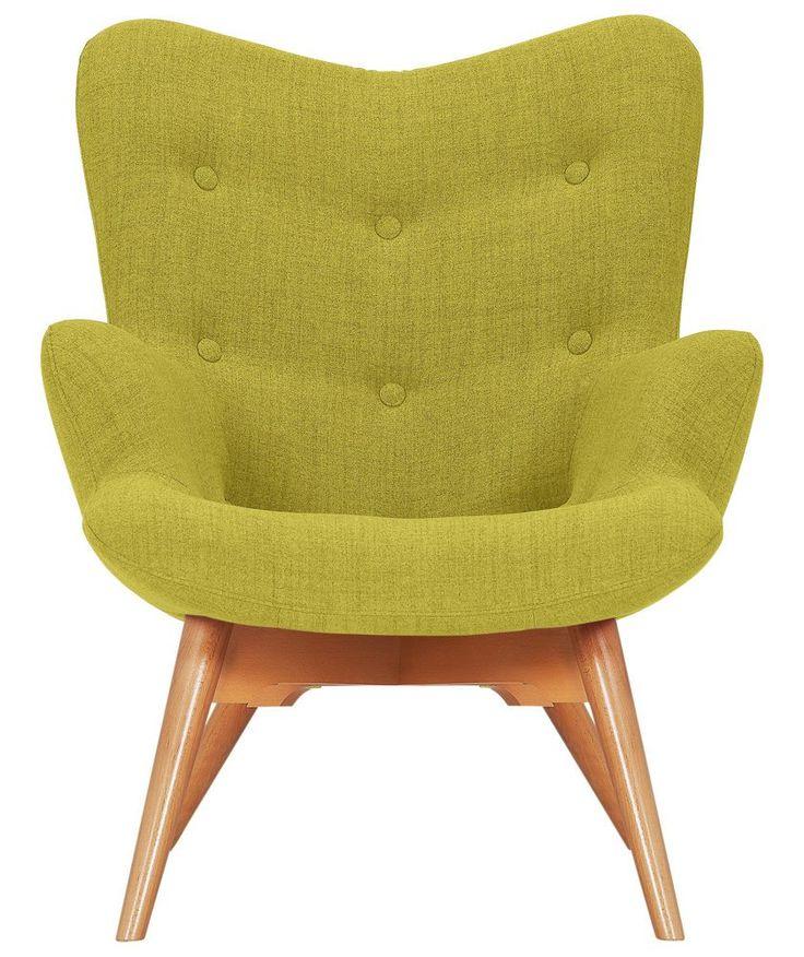 Buy Hygena Angel Fabric Chair Yellow At