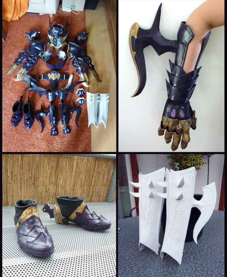 FFXIV Dragoon Cosplay WIP Update 3 by Evil-Siren