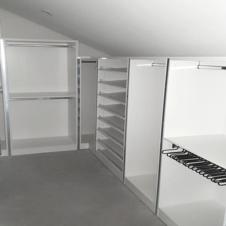Install of the Week:  This loft space was converted in a dream wardrobe using our deluxe system. This wardrobe design has all types of hanging space, ample shelving for bags and shoes and slide-out trouser racks. If you have a loft space you wish to convert, speak with a designer at Alliance Robes on how you can make the most out of your space. #tbt  #throwbackthursday