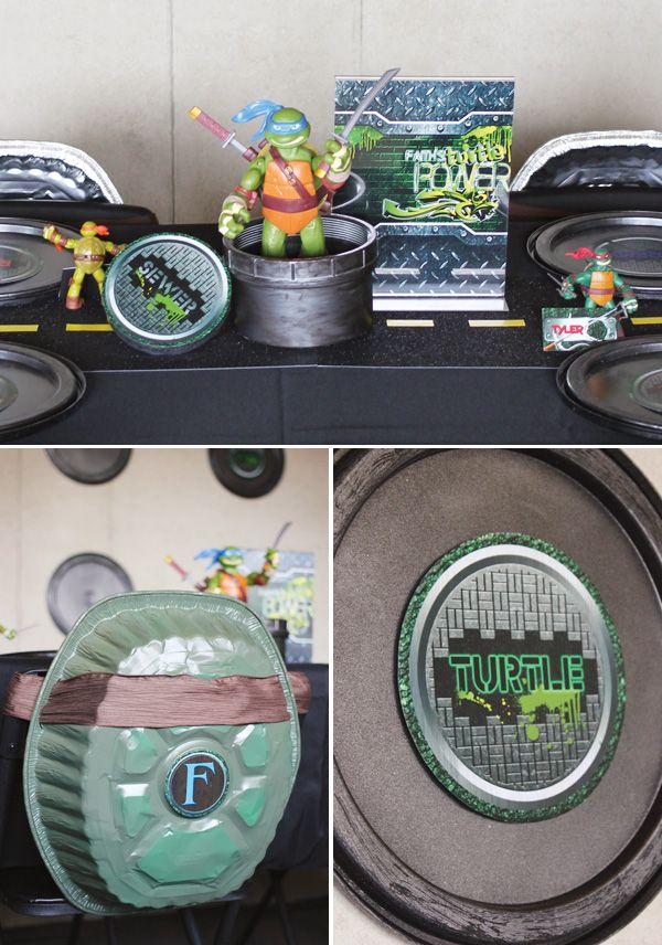 126 best Mutant Ninja Turtle Party images on Pinterest Ninja