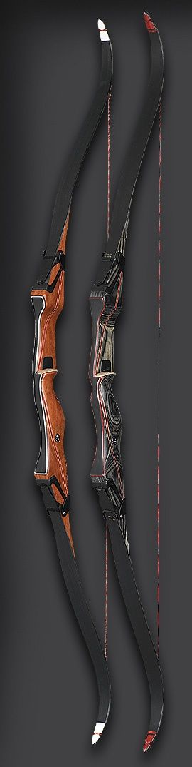 Traditional breakdown recurve bows. Technically much simpler to maintain than cam/pulley bows; (silent) archery is a SHTF must-have skill.