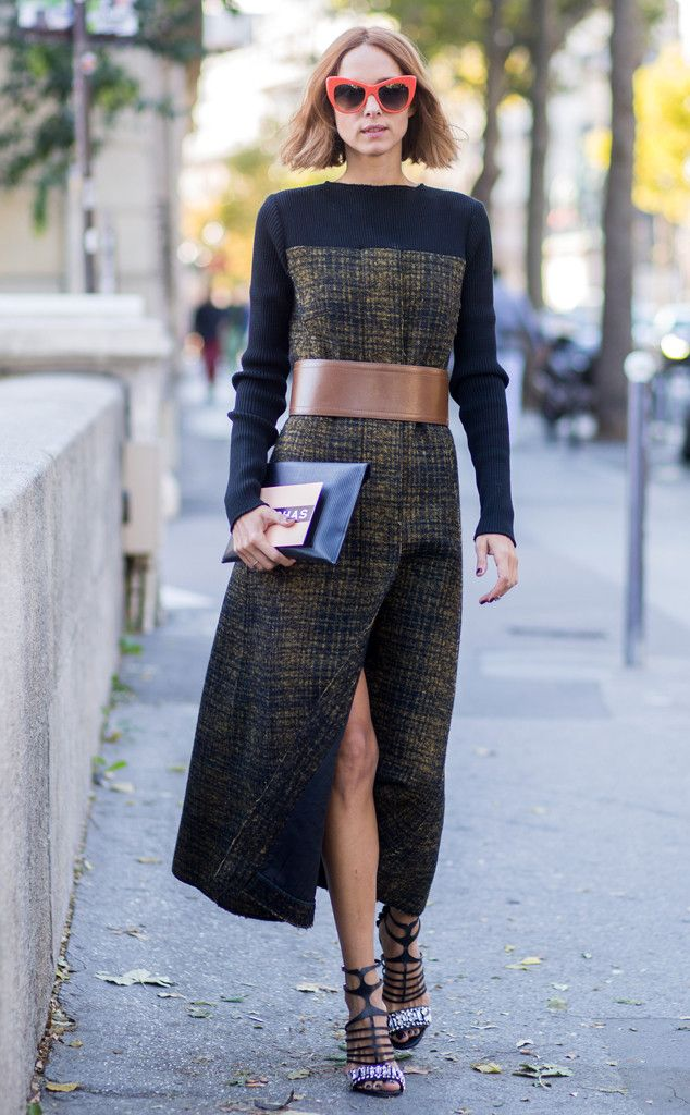Candela Novembre from Street Style at Paris Fashion Week Spring 2016 | E! Online