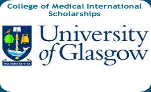 College of Medical International Scholarships in UK, and applications are submitted till 2nd June 2014. International scholarships are awarded for pursuing MSc Cancer Sciences, Sport & Exercise Science and Medicine, Cardiovascular Sciences and Infection Biology at University of Glasgow. - See more at: http://www.scholarshipsbar.com/college-of-medical-international-scholarships.html#sthash.afrEbd9d.dpuf