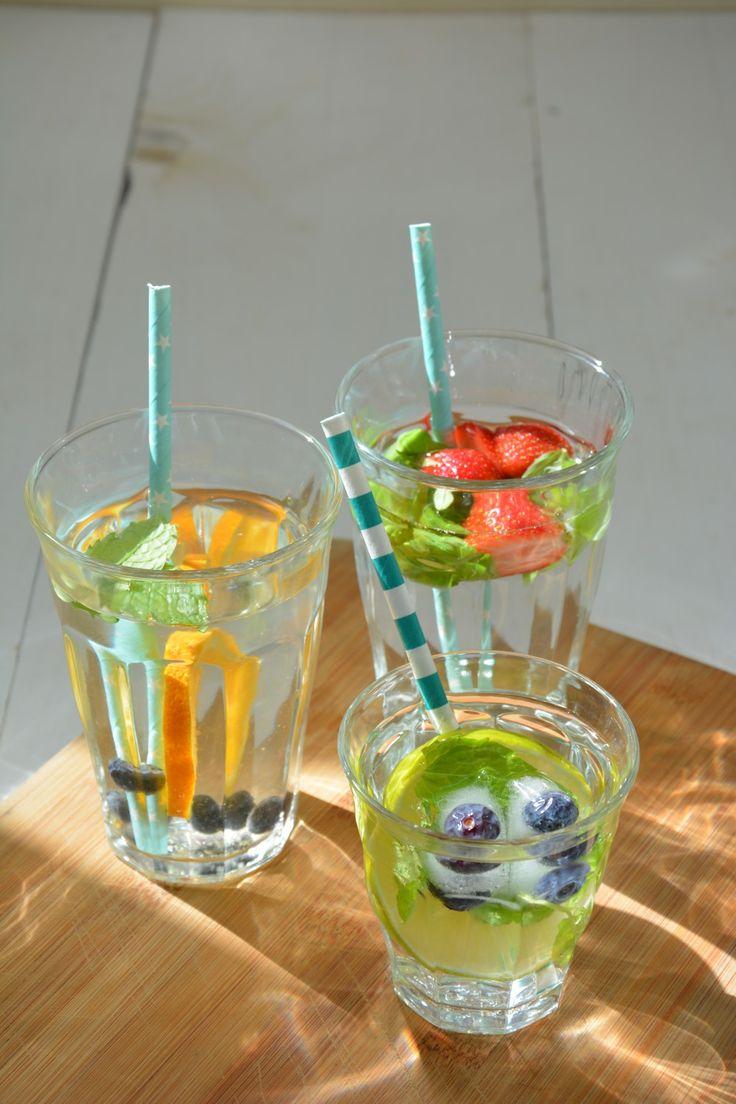 Snel, makkelijk, gezond drankje : Fruitwater  FODMAP recept