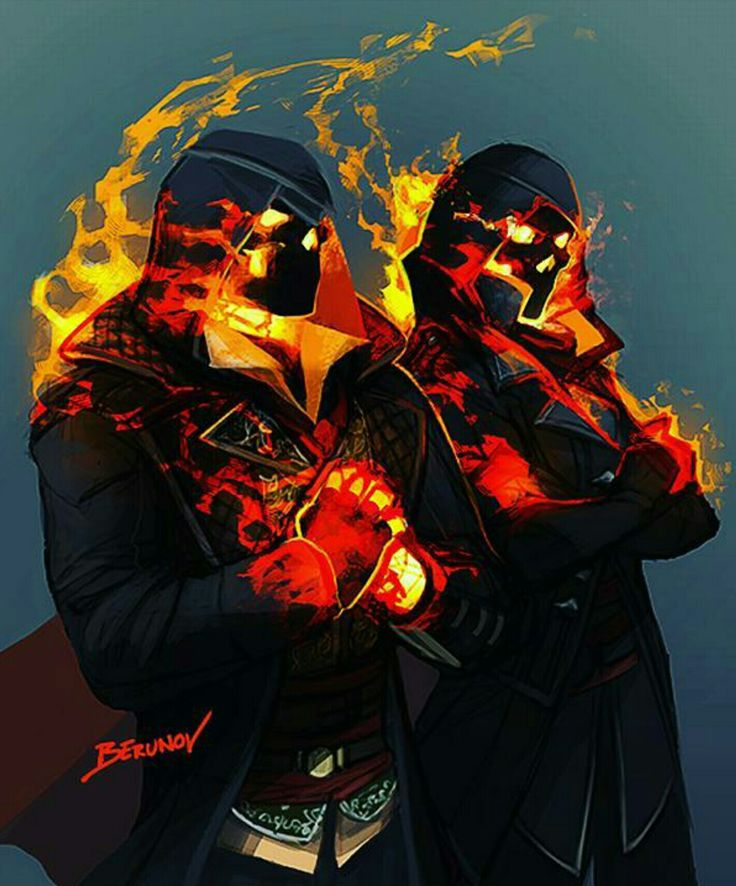 Ghost Rider Jacob and Evie Frye