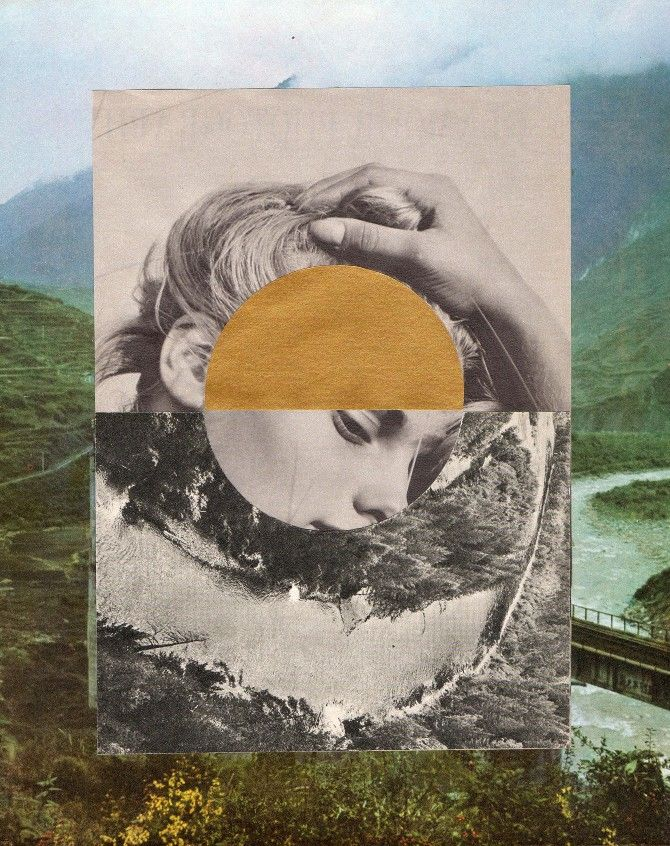 Puck Collective. Thomas Whitcombe collage.