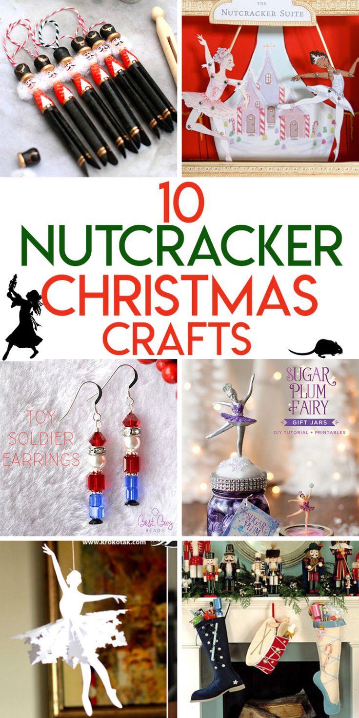 10 Magical Nutcracker Ballet Inspired Christmas Crafts