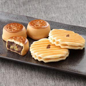 外国の方へのお土産にもおすすめ。日本の味。【福渡せんべい・織部錦詰合せ(中)】