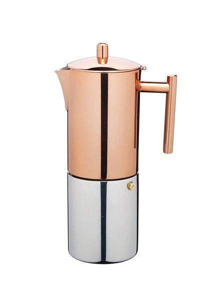 Products we like / KITCHEN CRAFT/ Copper Espresso Maker/ at designbinge