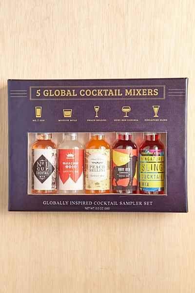 5-Piece Global Cocktail Mixer Set