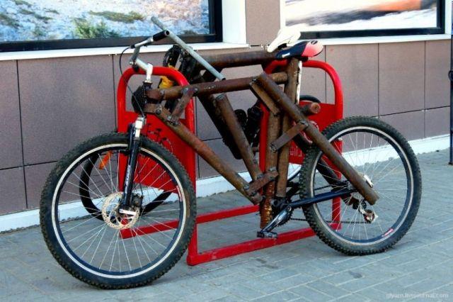 Агрессивный дизайн велосипеда из Ростова